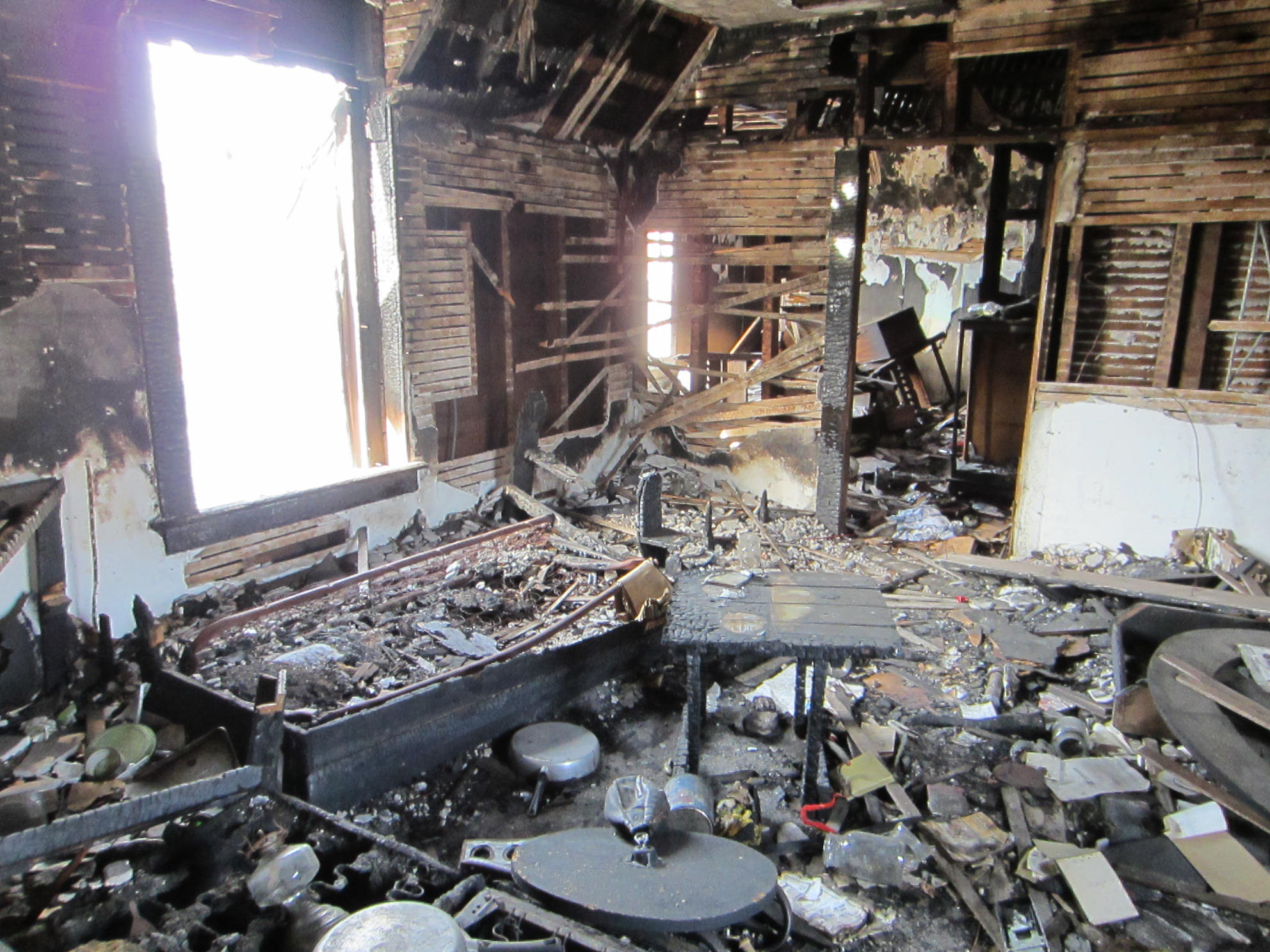 Interior Fire Damage Restoration
